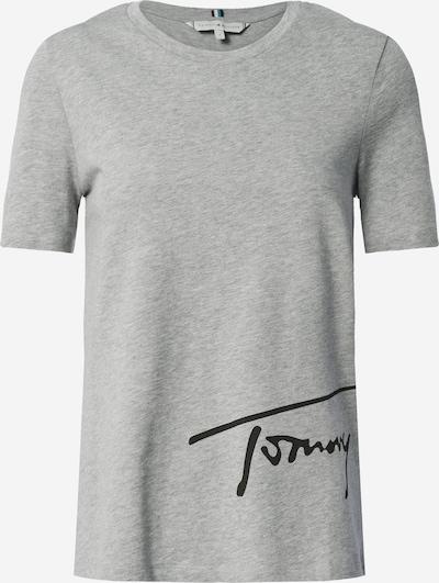 TOMMY HILFIGER Sweatshirt in de kleur Grijs gemêleerd / Zwart, Productweergave
