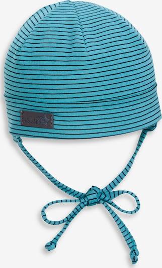 STERNTALER Mütze in türkis / schwarz, Produktansicht