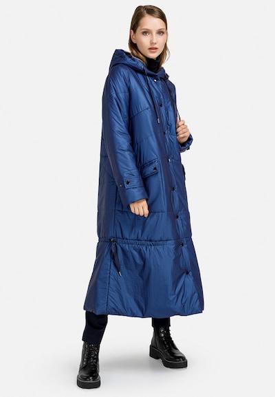 HELMIDGE Anorak in blau, Modelansicht