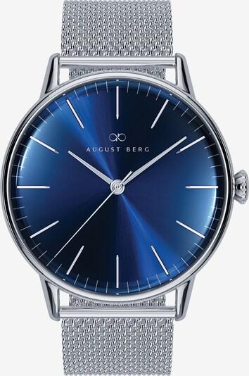August Berg Uhr 'Serenity Deep Blue Silver Silver 40mm' in blau / silber, Produktansicht