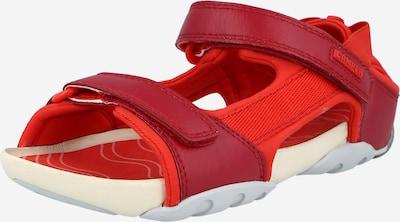 CAMPER Сандали 'Ous' в червено / рубинено червено, Преглед на продукта
