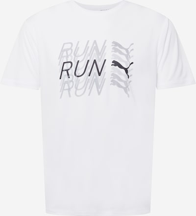 Tricou funcțional PUMA pe gri / negru / alb, Vizualizare produs