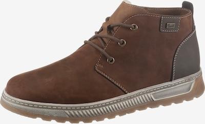 RIEKER Športové šnurovacie topánky - hnedá / tmavohnedá, Produkt