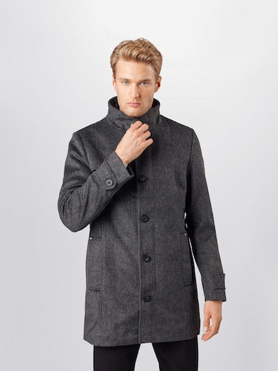 TOM TAILOR Between-seasons coat in dark grey, View model