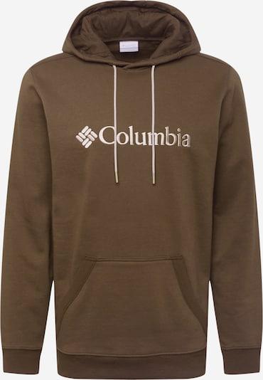 COLUMBIA Sports sweatshirt in Beige / Olive, Item view