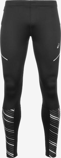 ASICS Sportbroek 'Lite-Show 2' in de kleur Zwart / Zilver, Productweergave