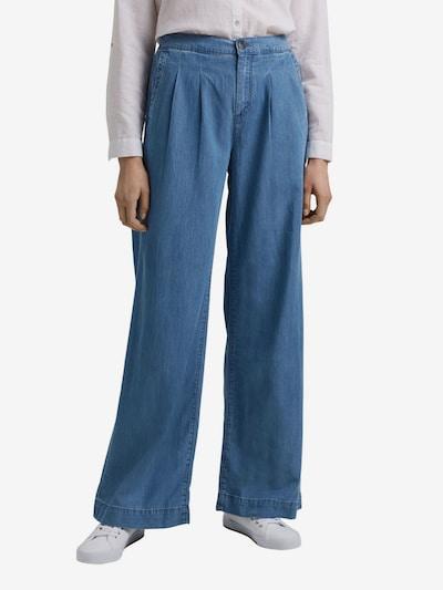 EDC BY ESPRIT Jeans in de kleur Blauw denim, Modelweergave
