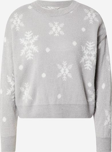 Miss Selfridge Pullover in hellgrau / silber / weiß, Produktansicht