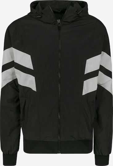 Urban Classics Tussenjas in de kleur Zwart / Wit, Productweergave