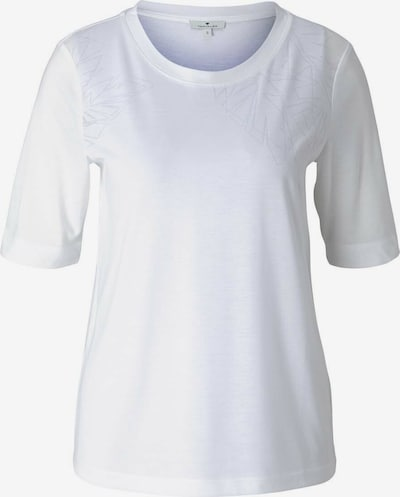 TOM TAILOR Tričko - bílá, Produkt