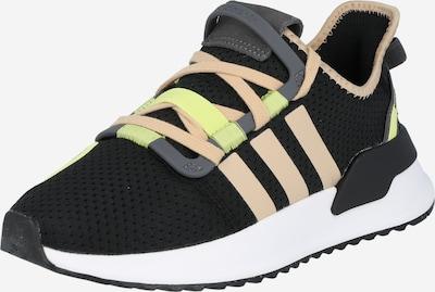 ADIDAS ORIGINALS Sneaker in grau / neongrün / puder / schwarz, Produktansicht
