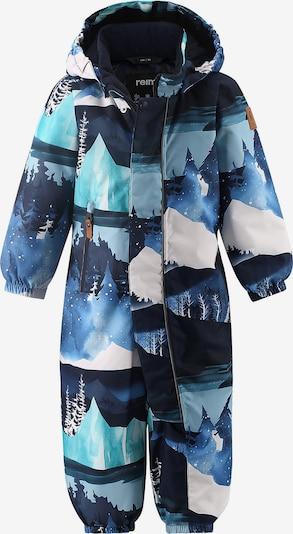Reima Schneeanzug in dunkelblau / weiß, Produktansicht