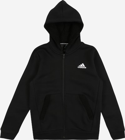 ADIDAS PERFORMANCE Sportief sweatshirt in de kleur Zwart / Wit, Productweergave
