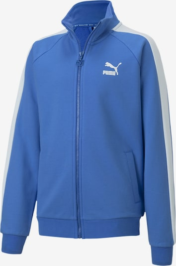 PUMA Trainingsjacke 'Iconic T7' in royalblau / weiß, Produktansicht