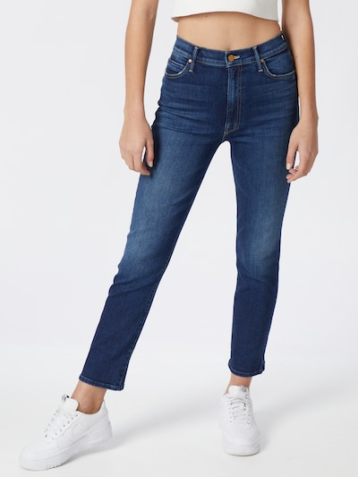 MOTHER Jeans 'THE SWOONER RASCAL' in blue denim, Modelansicht