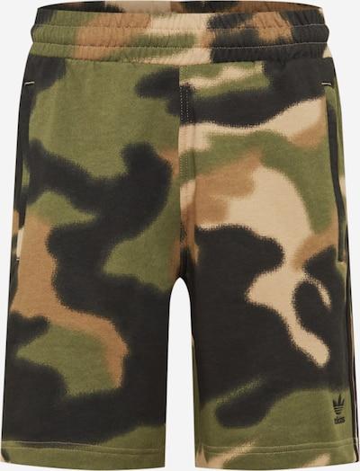 ADIDAS ORIGINALS Kalhoty - hnědá / světle hnědá / khaki / černá, Produkt