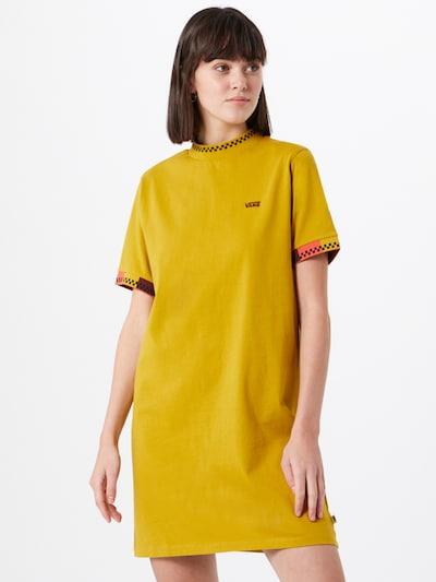 VANS HI ROLLER TRI CHECK DRESS in gelb / dunkelrot, Modelansicht
