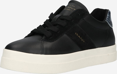 GANT Låg sneaker 'Avona' i gul / svart, Produktvy