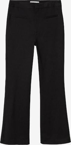 MANGO Pants 'Trumpet2' in Black