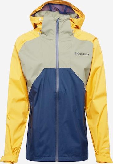COLUMBIA Outdoorová bunda 'Rain Scape' - námořnická modř / šafrán / světle žlutá, Produkt