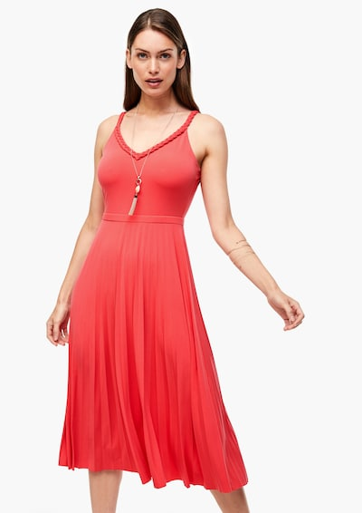 s.Oliver BLACK LABEL Kleid in pitaya, Modelansicht