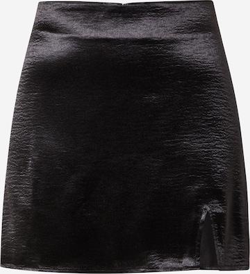 Gina Tricot Skirt 'Minky' in Black