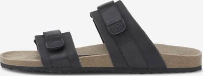 TOM TAILOR DENIM Pantolette in schwarz, Produktansicht