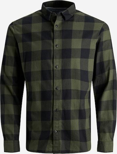 JACK & JONES Košeľa - zelená / čierna, Produkt