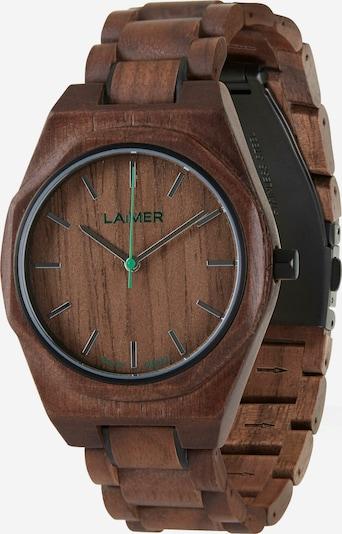 LAiMER Uhr   'Christiano' in braun, Produktansicht