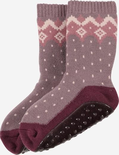 mp Denmark Ponožky - farba lesného ovocia / svetlofialová / rosé / svetloružová, Produkt
