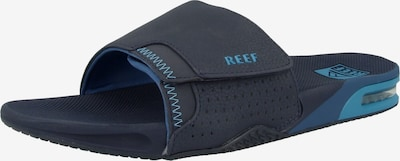 REEF Strand-/badschoen 'Fanning' in de kleur Navy / Lichtblauw, Productweergave