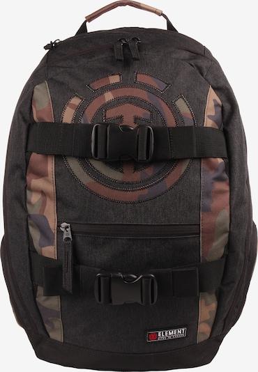 ELEMENT Rucksack 'Mohave' in khaki / schwarz, Produktansicht