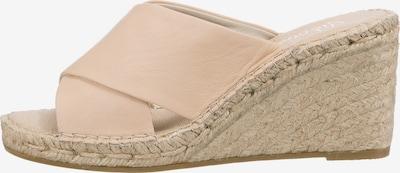 Vidorreta Pantolette in beige, Produktansicht