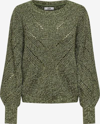 JDY Pullover 'JUSTINA' in dunkelgrün, Produktansicht