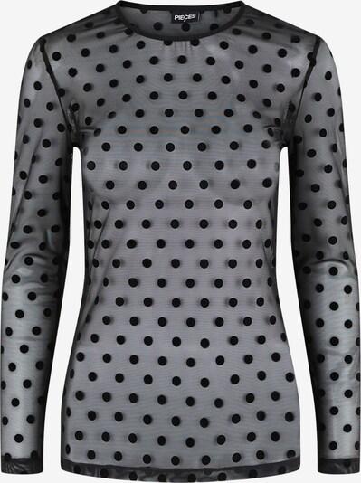 PIECES Shirt 'Mina' in schwarz, Produktansicht