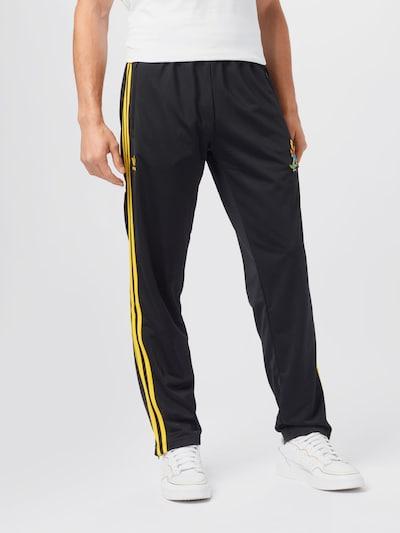 ADIDAS ORIGINALS Hose in gelb / schwarz, Modelansicht