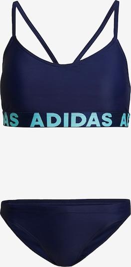 ADIDAS PERFORMANCE Sports Bikini in Navy / Neon blue, Item view