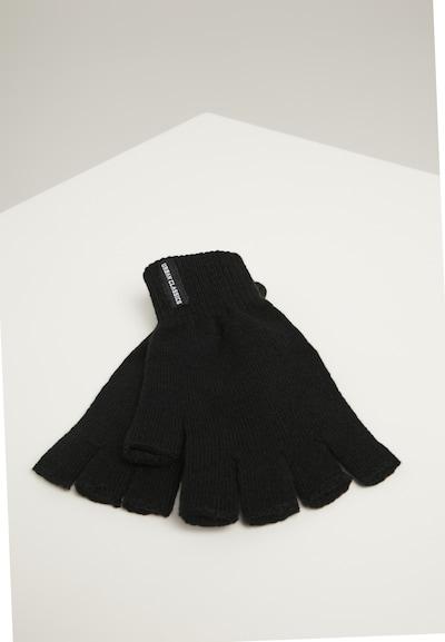 Urban Classics Handschuhe 'Half Finger Gloves 2-Pack' in schwarz, Produktansicht