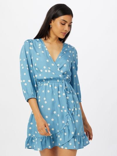 Rochie tip bluză NEW LOOK pe albastru / alb, Vizualizare model
