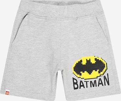 LEGO WEAR Trousers in Yellow / mottled grey / Black, Item view