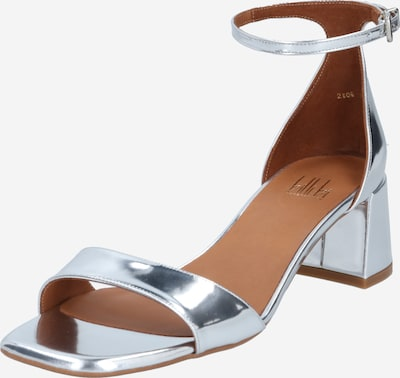Billi Bi Sandal in silver, Item view