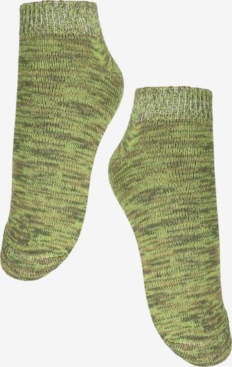 ROGO Sneakersocken in grün, Produktansicht