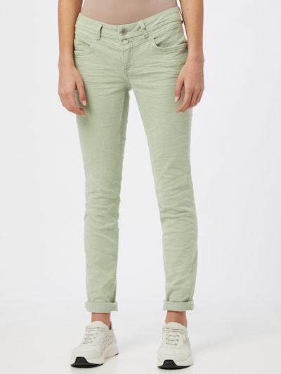 STREET ONE Jeans in grün, Modelansicht