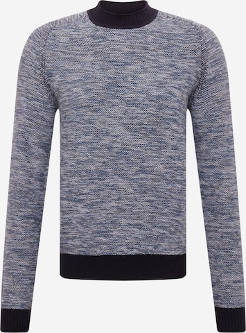 BOSS Casual Sweater 'Kharles' in Blue