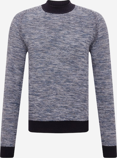 BOSS Casual Sweater 'Kharles' in Dark blue / White, Item view