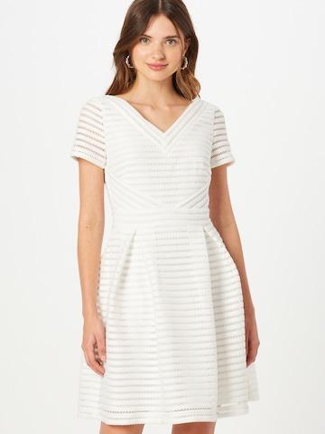 SWING Kokteilové šaty - biela