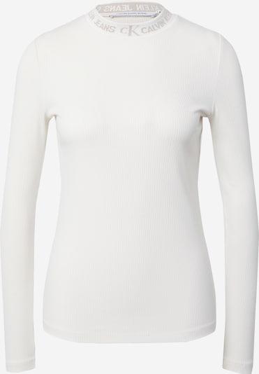 Calvin Klein Jeans Shirt in hellbeige / offwhite, Produktansicht