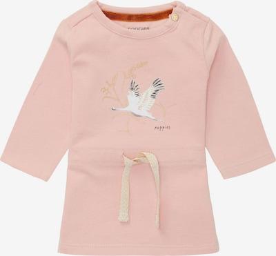 Noppies Kleid 'Seward' in gold / rosa / schwarz / weiß, Produktansicht