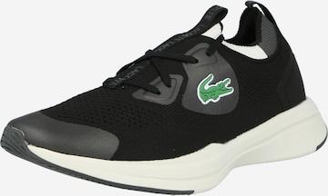 Sneaker bassa 'Run Spin' di LACOSTE in nero