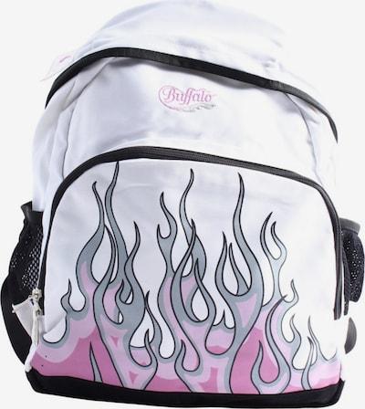 BUFFALO Schulrucksack in One Size in hellgrau / pink / weiß, Produktansicht